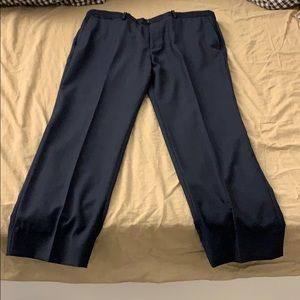 Theory 100% wool trouser.